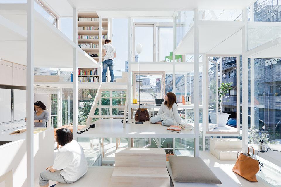 準建築人手札網站 Forgemind ArchiMedia | 日本建築師藤本壯介(Sou Fujimoto) 設計給俊男美女住的東京透明住宅 House NA