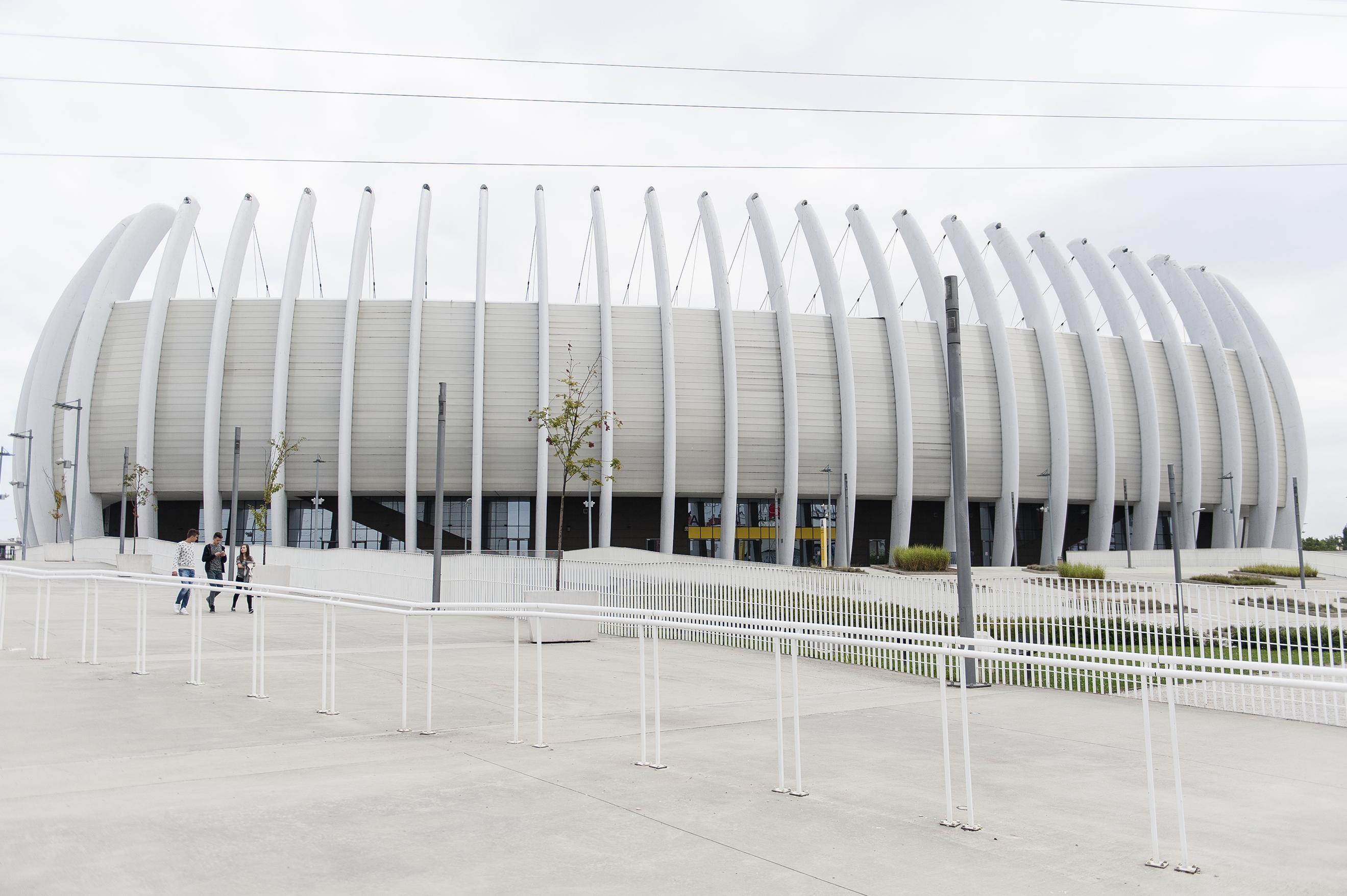 Arena Zagreb Arhitektonske Razglednice